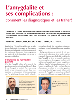 076-Dr Tewfik-amygdalite - STA HealthCare Communications