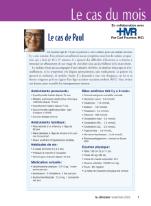 Le cas du mois - STA HealthCare Communications