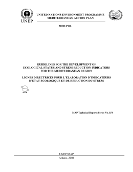 united nations environment programme mediterranean action plan
