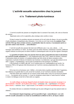 Traitement photolumineux