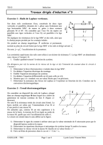 Travaux dirigés d`induction n°3