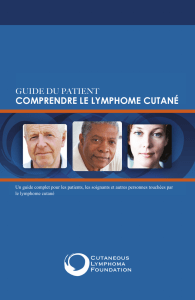 comprendre le lymphome cutané - Cutaneous Lymphoma Foundation