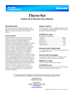 Thyro-Set - Douglas Laboratories