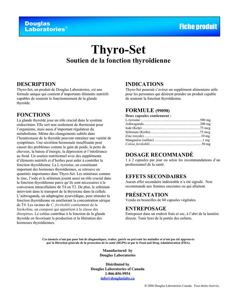 Thyro-Set - Douglas Laboratories