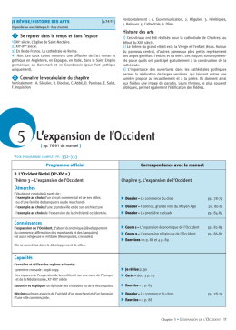 5 L`expansion de l`Occident