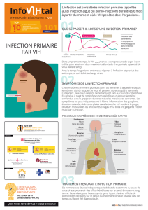 infection primaire par vih - gTt-VIH