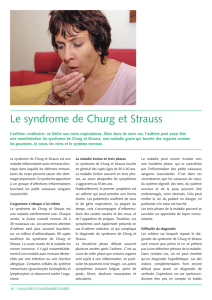 Le syndrome de Churg et Strauss