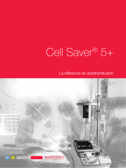 Cell Saver® 5+
