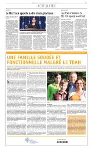 TDAH – Famille Parent-Chabot - Institut des troubles d`apprentissage