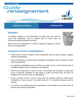 Guide d`enseignement