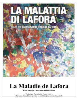 La Maladie de Lafora - Association France Lafora