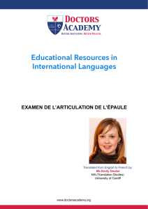 Educational Resources in International Languages