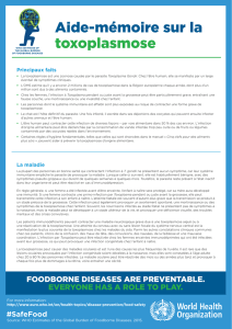 Toxoplasmosis Fact Sheet
