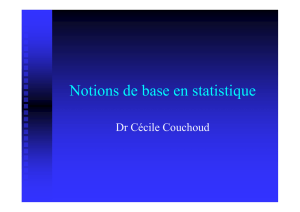 6 - Notions de base en statistique