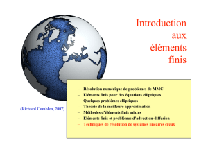 Introduction aux éléments finis