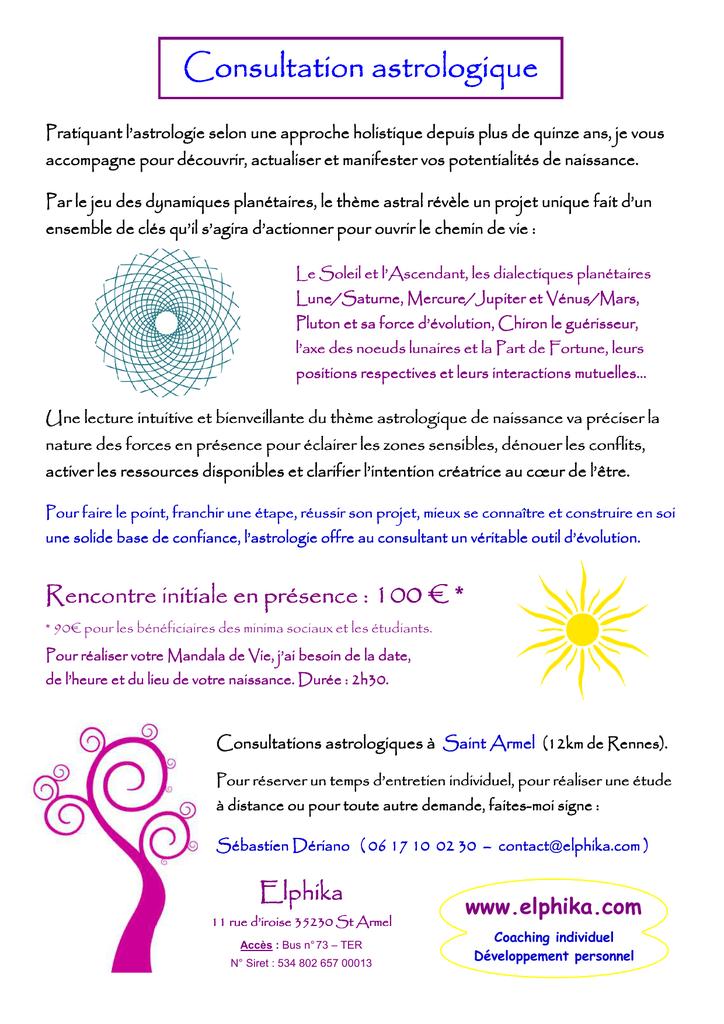 rencontre selon signe astrologique