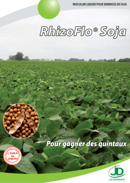 RhizoFlo® Soja - Jouffray Drillaud
