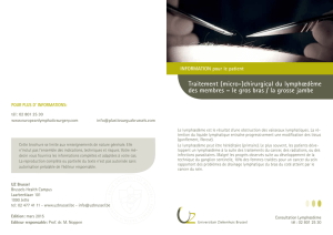 Traitement (micro-) - UZ Brussel: Patientinfo