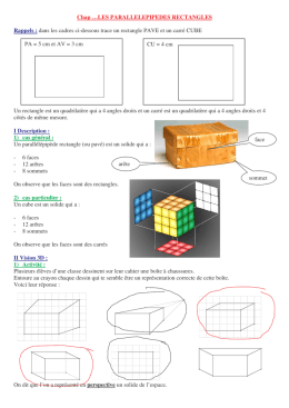 (chap 23 Parallépipède rectangle et cube)