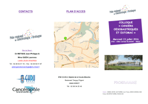programme-inscription COLLOQUE CANCERS