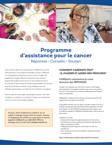 Programme d`assistance pour le cancer