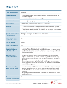 Biguanide - Canadian Diabetes Guidelines