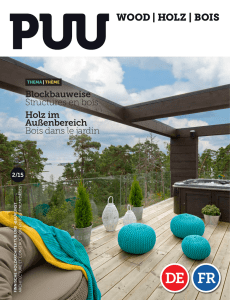 HOLZ | BOIS - Wood Products
