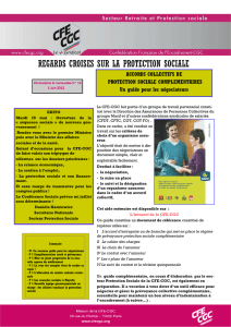 regards croisés N°19 - CFE-CGC Syndicat National des Territoriaux
