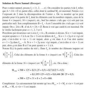 Solution de Pierre Samuel (Hosseg