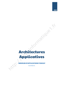 Architectures Applicatives