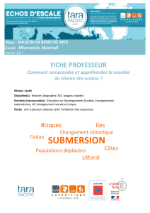 fiche professeur - Tara Expeditions