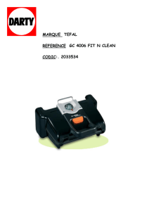 marque tefal reference gc 4006 fit n clean codic:. 2033534
