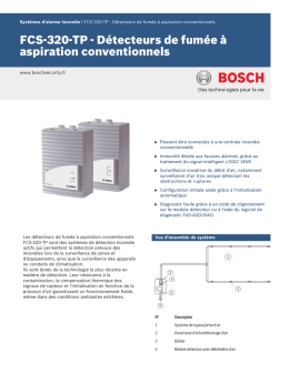 FCS-320-TP - Bosch Security Systems