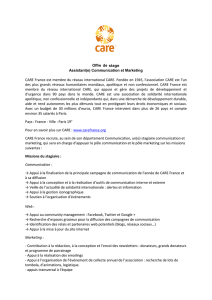 CARE France est membre du réseau international CARE. Fondée