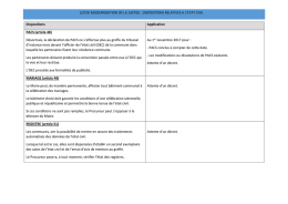 Loi de modernisation de la justise : dispositions relatives à - Cdg-64