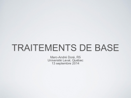 traitement de base - Cutaneous Lymphoma Foundation