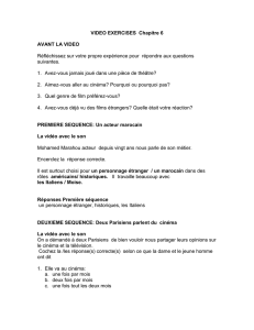 VIDEO exercises Chapitre 6