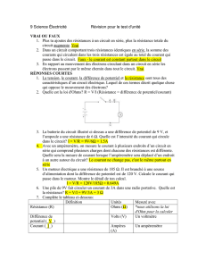 Correction des questions de révision