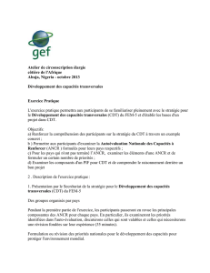GEF GLOBAL ENVIRONMENT FACILITY