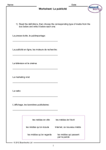 Boardworks MFL Customer Club Worksheet Spring 2010
