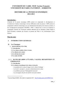 Distribution des Notes : Note final /20