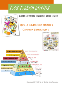 Ecole Geoorges Brassens, 13450 Grans. Qu`y –a-t