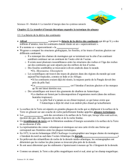 Sciences 10 Ch 12 - Notes eleves