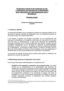Dissertation economie investissement