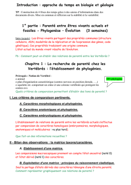 Introduction : approche du temps en biologie et