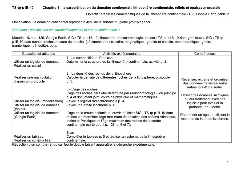 feuille de calcul de datation isotopique application de site Web de rencontres gratuit