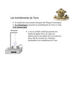Le tremblements de Terre Th 5