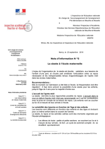 L`Inspectrice de l`Education nationale - Académie de Nancy-Metz