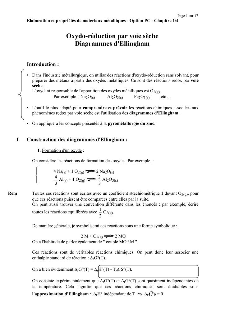 Page 1 Sur 15 Elaboration Et Propri U00e9t U00e9s De Mat U00e9riaux