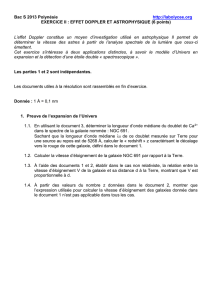 Bac S 2013 Polynésie http://labolycee.org EXERCICE II : EFFET